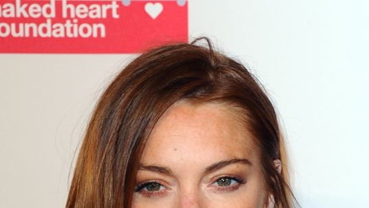 Lindsay Lohan, pictured in London last year