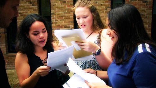 GCSE pupils