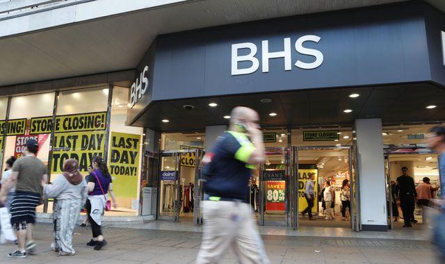 BHS liquidation proceedings begin, ending 88 year history