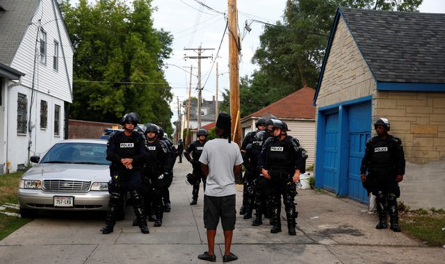 Milwaukee leaders blame outsiders for violence