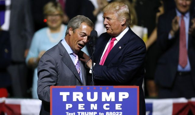 UK-US trade deal 'within 90 days' of Brexit', Nigel Farage says
