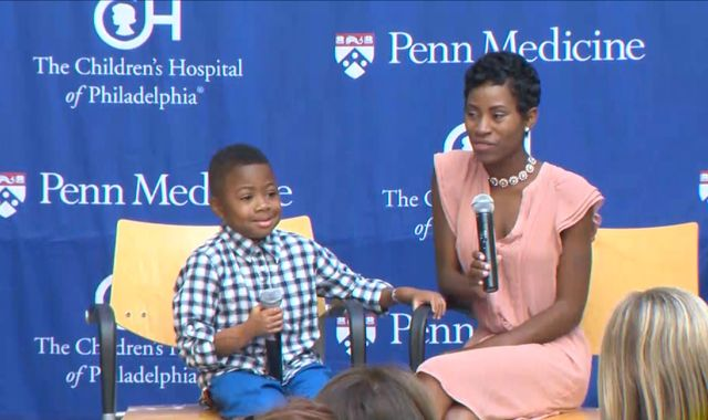 Youngest Double-Hand Transplant Patient Wants To Play Football