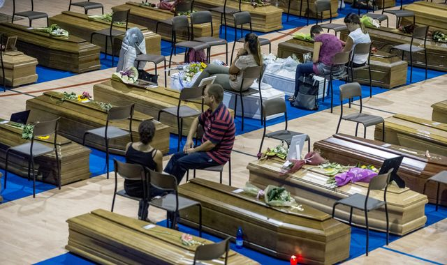 Aftershocks Ahead Of State Funeral For Italy's Earthquake Victims