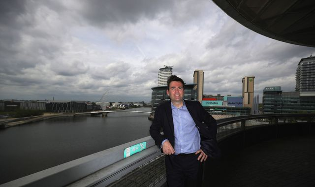 Andy Burnham wins Labour's metro mayor nomination in Greater Manchester