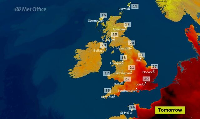 Midweek Sizzler: Heatwave Alerts For Parts Of UK