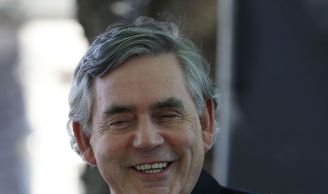 Gordon Brown Calls For Elected Senate To Replace House Of Lords