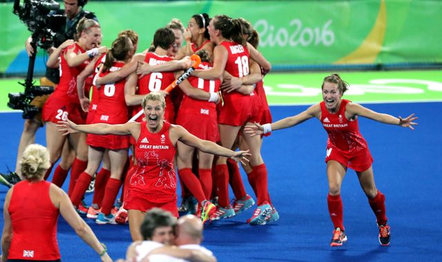 Olympics-Hockey-Britain dethrone the Netherlands to take gold