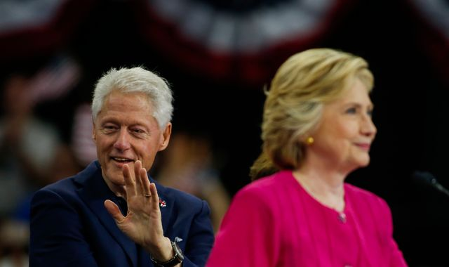 Bill Clinton: Hillary made mistake over email server