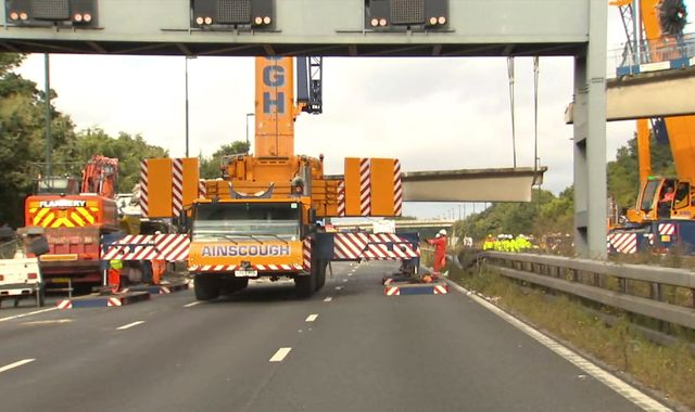 M20 Reopens After Bridge Collapse Causes Chaos
