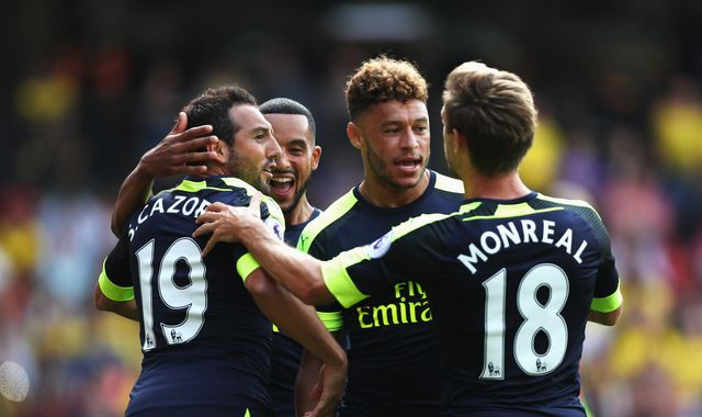 Arsenal Claim First Premier League Victory