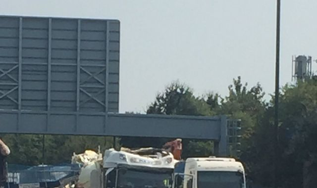 At Least One Person Injured After Bridge Collapses On M20