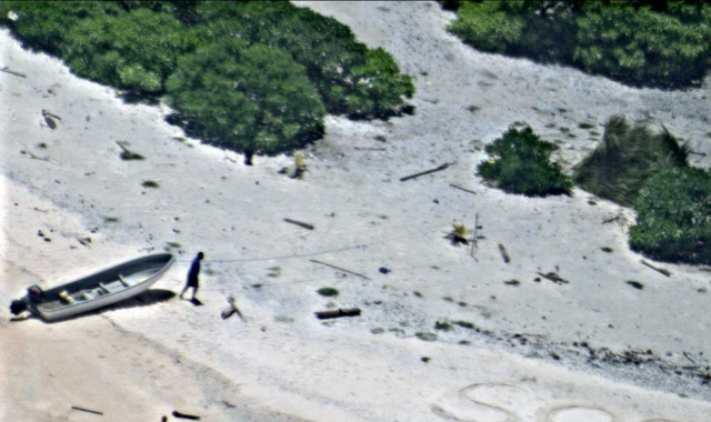 Pair Found On Remote Chuuk State Island After Writing SOS In Sand