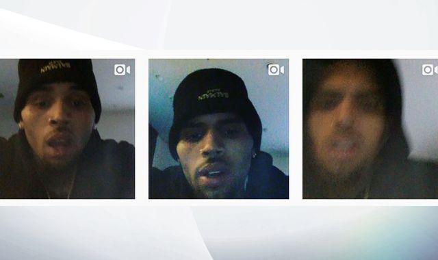 Rapper Chris Brown Posts Instagram Videos During Police  Standoff