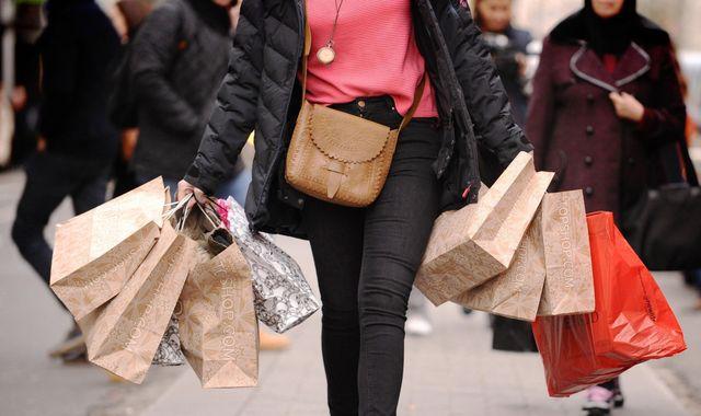 Retail sales tumble amid spending squeeze