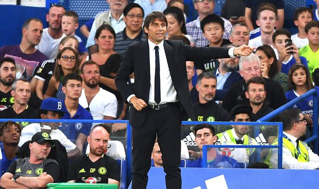 Antonio Conte keen to build for the future