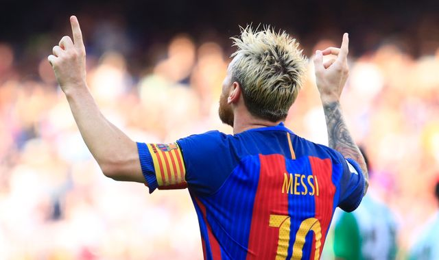 Guardiola hints at England move for Messi