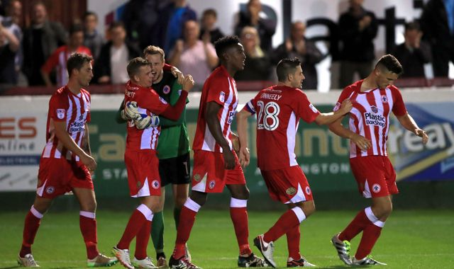 League Two Accrington Stanley Knock Out Top Flight Burnley