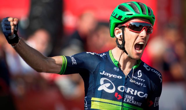 Britain's Simon Yates Wins Vuelta Stage Solo