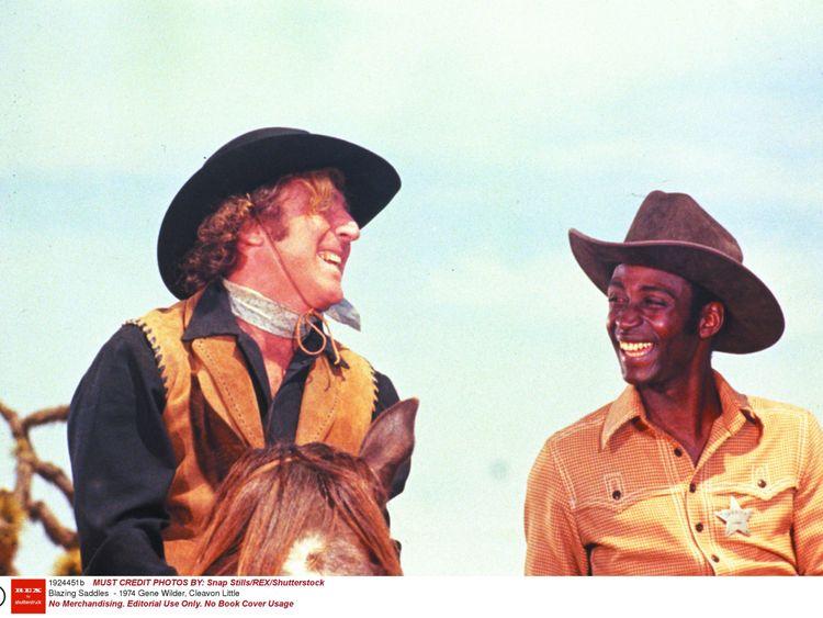 Gene Wilder and Cleavon Little