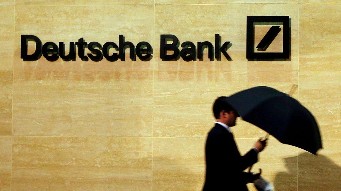 Deutsche Bank offices in London