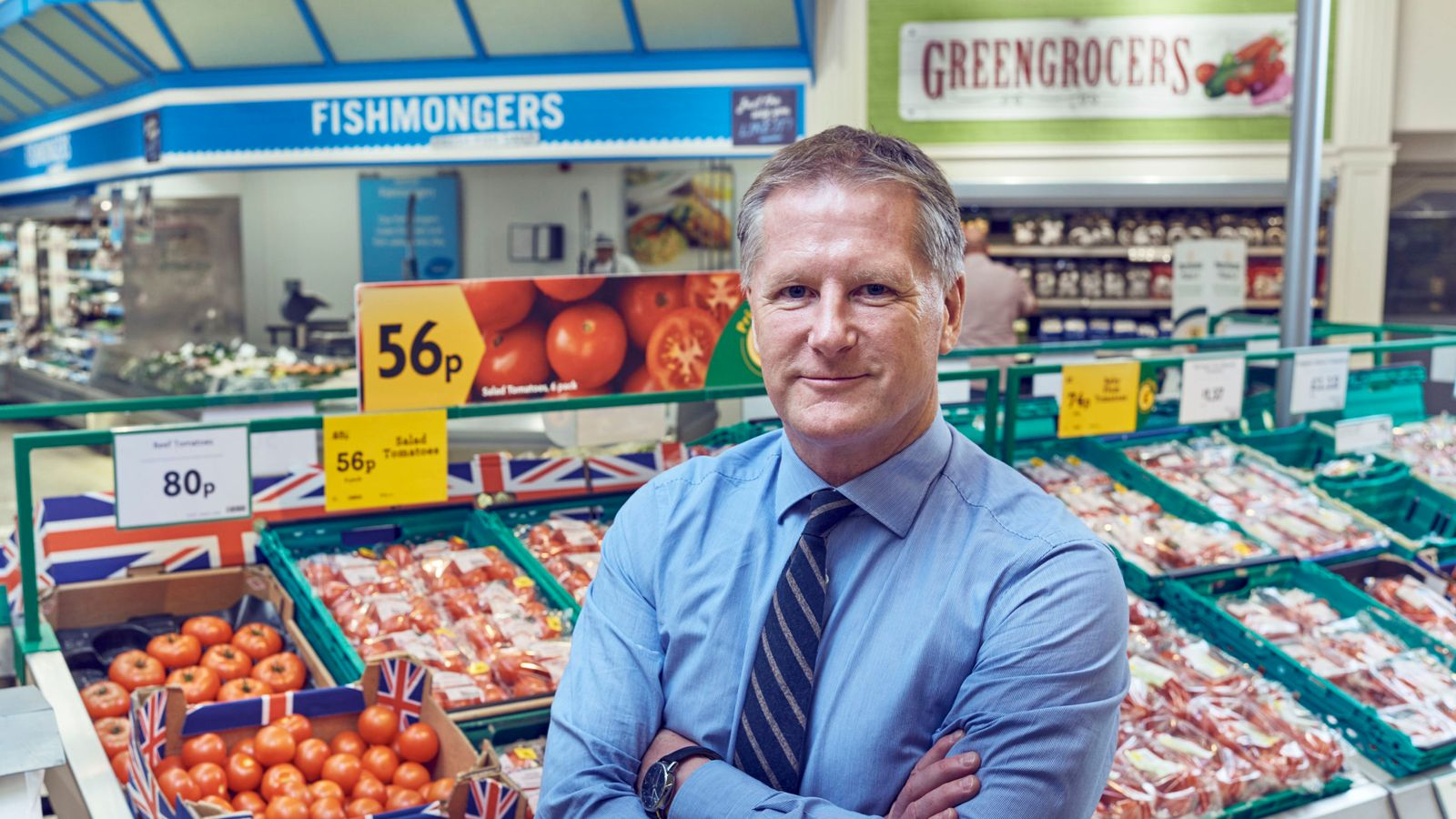 Morrisons chief executive David Potts