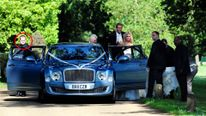 Ricky Hayden was Peter Crouch and Abbey Clancy's wedding bodyguard