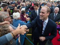 The Duke of Cambridge meets the crowds in Canada