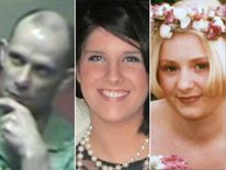 Police fear Christopher Halliwell, the killer of Sian O'Callaghan (centre) and Becky Godden (right), may be a serial killer