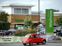 A Waitrose store in Harrow
