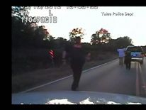 Terence Crutcher was walking away from officers with his hands up