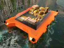 """A driverless """"roboat"""" on the canals of Amsterdam"""