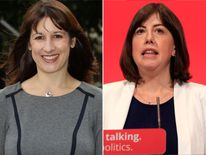 Rachel Reeves and Lucy Powell
