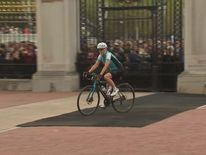 The Countess of Wessex arrives at Buckingham Palace