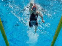 Ellie Simmonds picked up bronze in the S6 freestyle