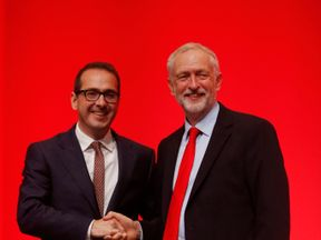 Owen Smith and Jeremy Corbyn as the Labour leadership race winner is announced