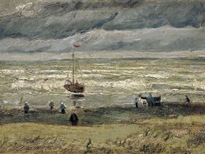 Vincent van Gogh's 'View of the Sea at Scheveningen'