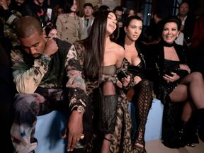 Rumours spread online that Kim Kardashian was considering divorce from Kanye West