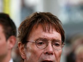 Sir Cliff said he was pleased with the speed the CPS had reached its decision