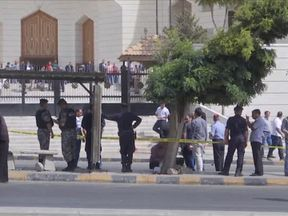 The court in Petra where Nahed Hattar was shot dead
