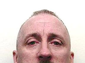 handout photo issued by Gwent Police of convicted murderer Mark Anthony Ryder, who has vanished from a bail hostel.
