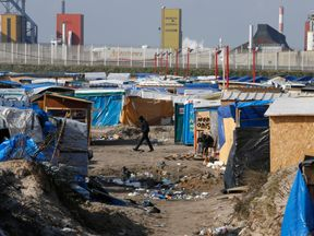 The 'Jungle' camp at Calais