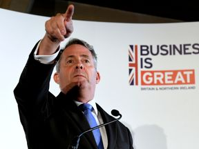 "Liam Fox argues the need to remove ""impediments"" to boosting exports"