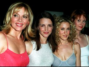 The stars of Sex And The City in June 2000