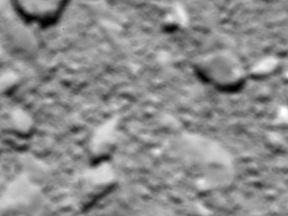 Rosetta mission's last image