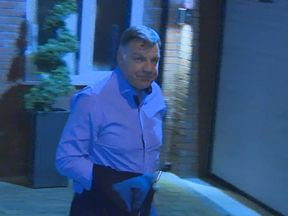Sam Allardyce returns home after leaving the England job