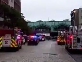 Emergency services at the scene. PIc: CBSN