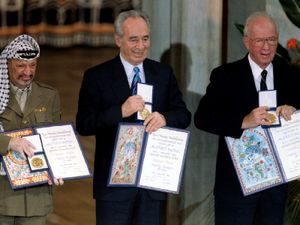 The widely quoted words of political giant Peres