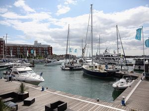 WW2 bomb blown up off Portsmouth is damp squib