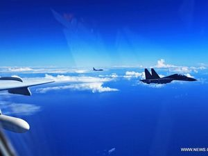 Japan scrambles fighter jets in South China Sea