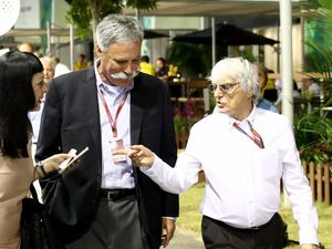 Bernie Ecclestone not 'deposed', F1 replacement Chase Carey says